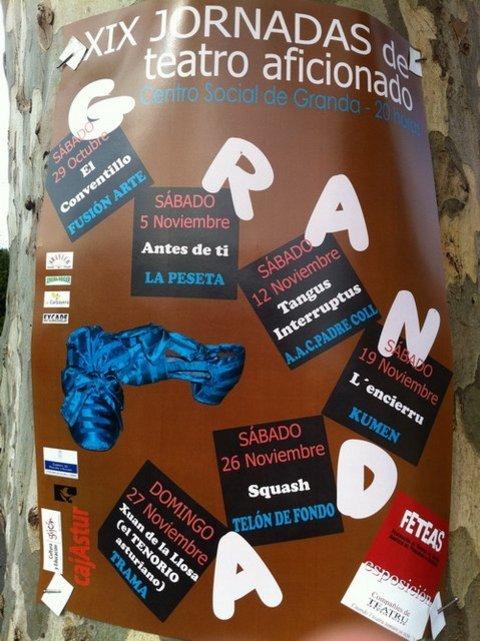 AV Granda - Programa XIX Jornadas de Teatro - Asociacion de Vecinos Santo Tomas de Granda